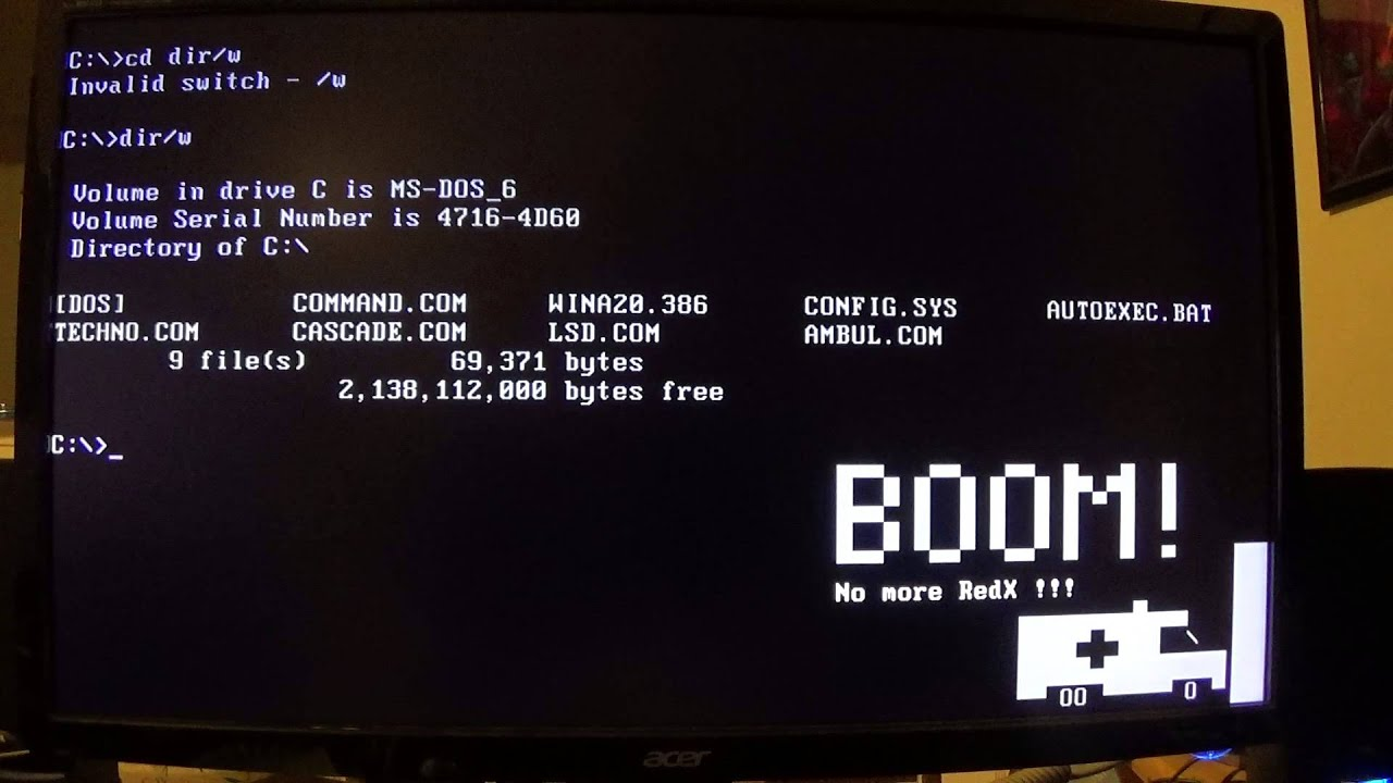 ms dos Ms-dos (/ ˌ ɛ m ˌ ɛ s ˈ d ɒ s / em-es-doss acronym for microsoft disk operating system) is an operating system for x86-based personal computers mostly.