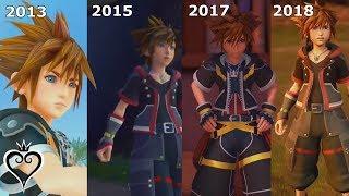 Evolution of Kingdom Hearts 3
