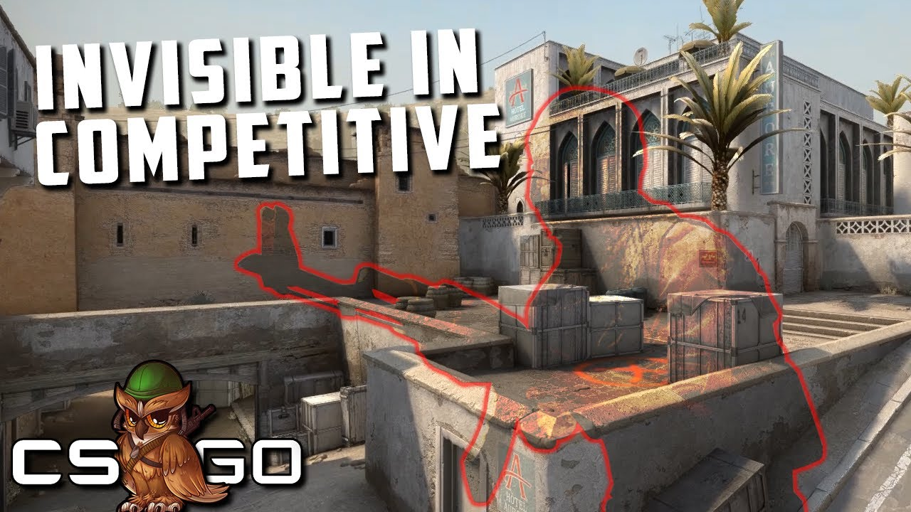 Competitive CS:GO but One Player is Invisible thumbnail
