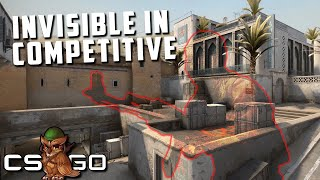 Competitive CS:GO but One Player is Invisible