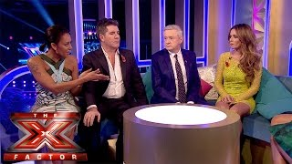 The Judges react to tonight's elimination   Live Results Wk 5   The Xtra Factor UK 2014