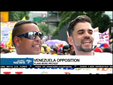 Juan Carlos Lamas reports on Venezuelan opposition protests