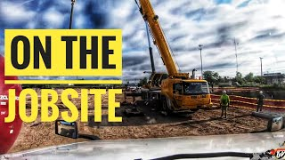 My Trucking Life | ON THE JOBSITE | #1785