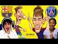 ⚽ BARCELLONA vs PSG   SFIDA di Calcio vs Mia MAMMA (La Mojita) su FIFA 21