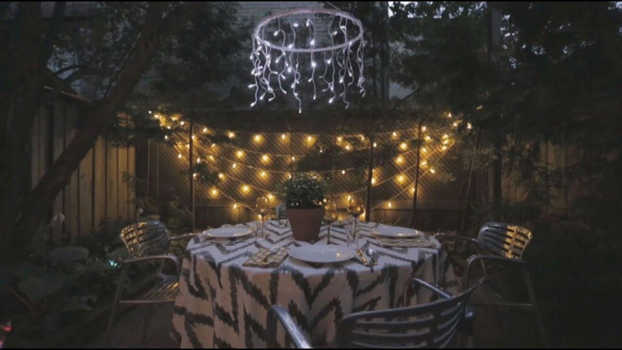 House U0026 Home: Backyard Garden Lights