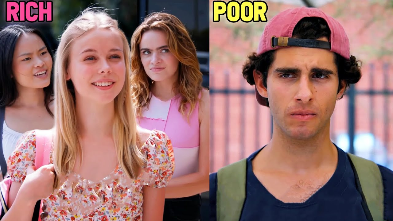 Spoiled Rich Girl REJECTS Poor Skater Boy..(But Regrets It?)