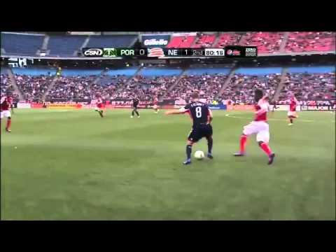 Lee Nguyễn biểu diễn kỹ thuật (New England 1 - 0 Portland Timbers) | MLS 2012 |