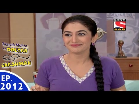 Taarak Mehta Ka Ooltah Chashmah - तारक मेहता - Episode 2012 - 29th August,  2016