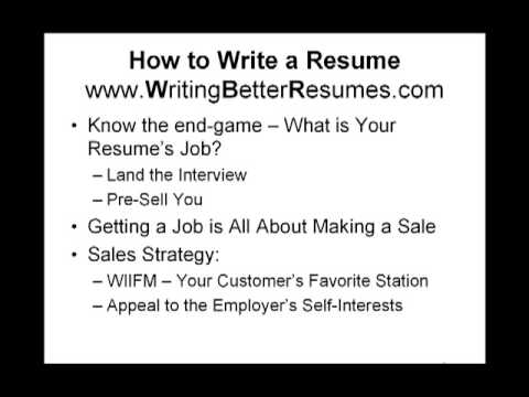 How to Write a Resume - 3 Tips to Help Get You Interviews - YouTube