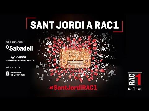 Sant Jordi a RAC1