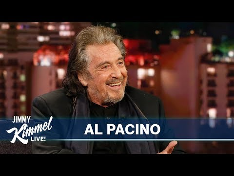 Jimmy Kimmel's FULL INTERVIEW with Al Pacino
