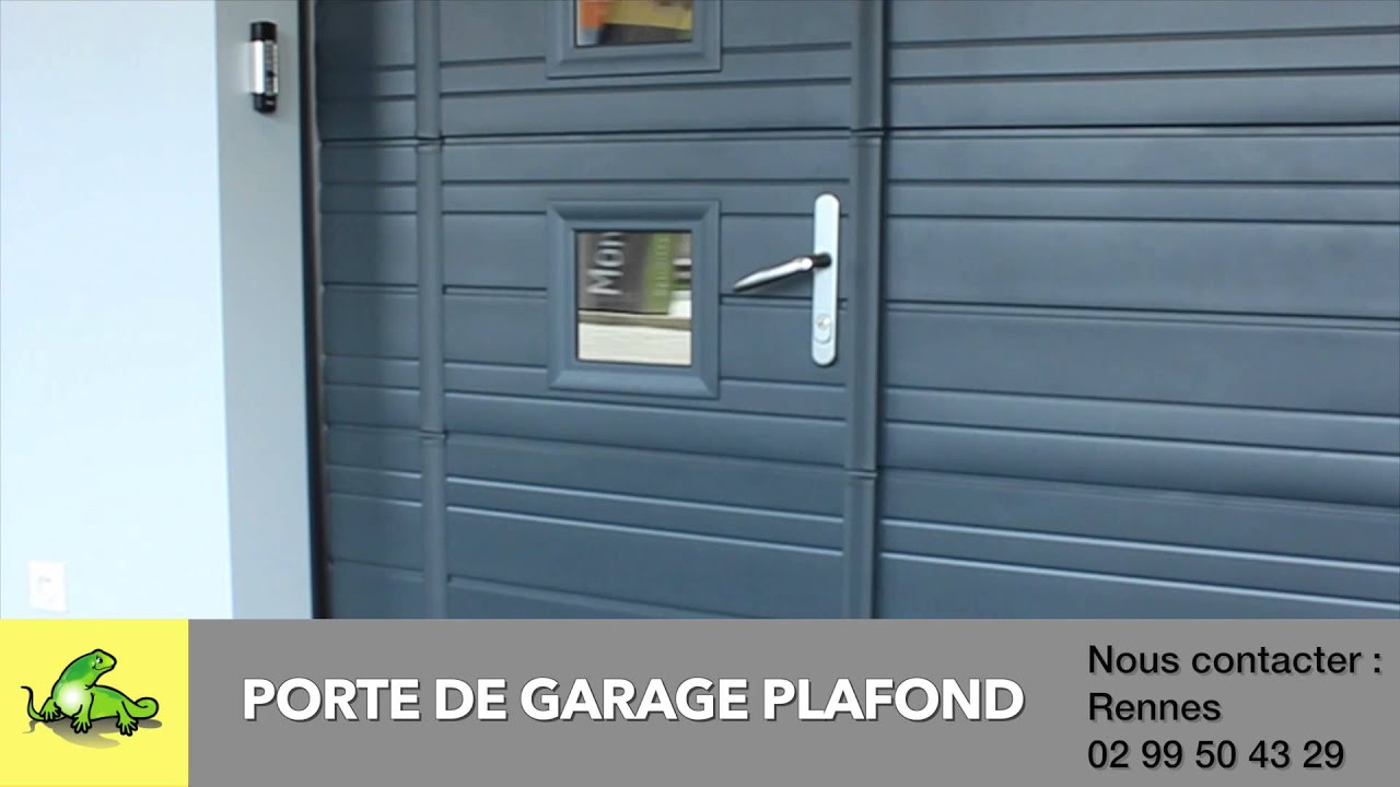 Votre porte de garage avec monsieur store rennes youtube for Porte de garage osilys