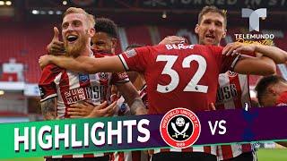 Highlights & Goals | Sheffield United Vs. Tottenham 3 1 | Telemundo Deportes