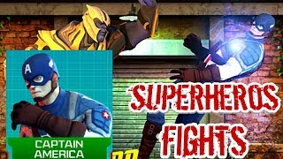 Captain America - Real Superhero Pro Captain America Street Fight Game HD Mobile Kid Game