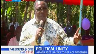 COTU Secretary General Francis Atwoli calls Luhya leaders for a unity meeting