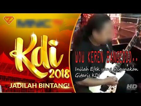 Inilah Efek Gitar yang Dipakai Gitaris KDI