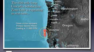 James Roddey - Cascadia Earthquake Animation