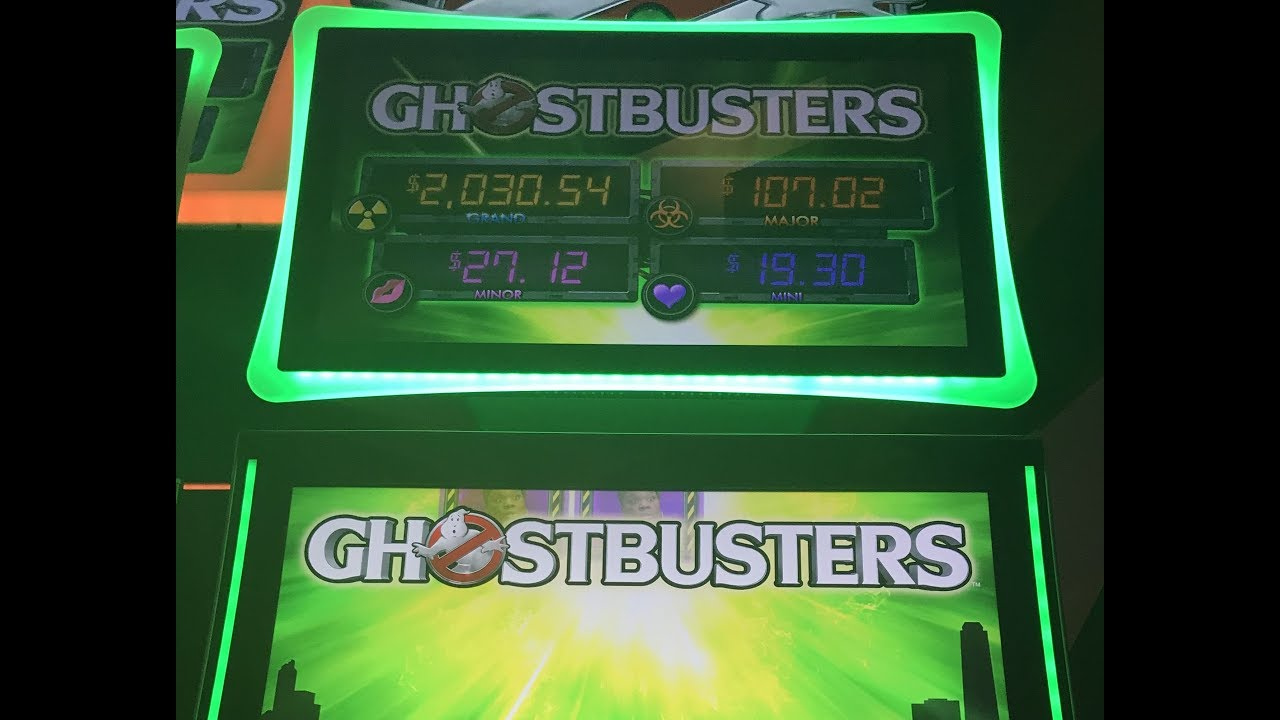 Ghostbuster Slot Machines