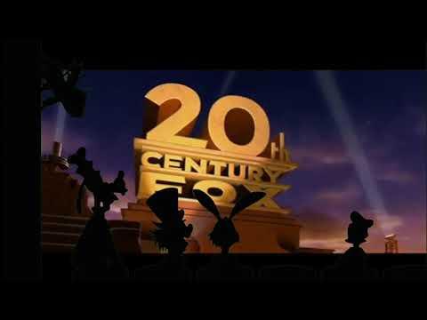 20th Century Fox Logo Disney Characters