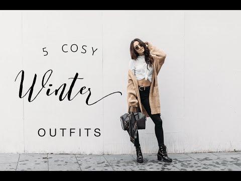 5 COSY WINTER OUTFITS | LOOKBOOK | DANIELLE PEAZER