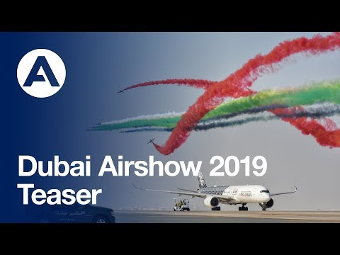 Getting ready for the Dubai Airshow 2019