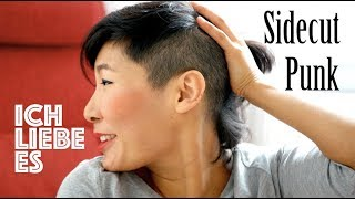 Meine Haarveränderung   Sidecut rasieren   Neue Haare zum Jahresende   Loslassen