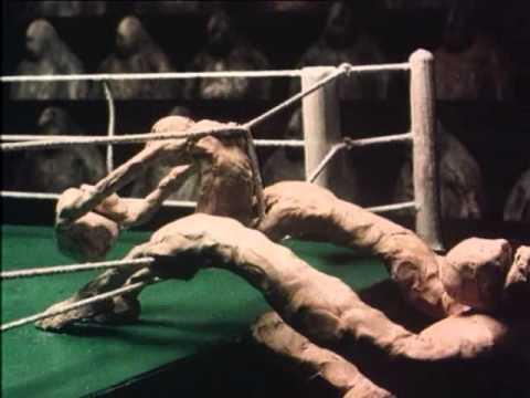 Пластилиновый мультфильм про бокс пластилиновый