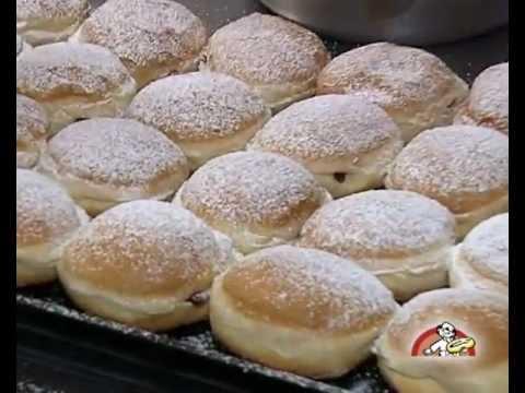 Pfannkuchen Herstellung - Bckerei Gunter Weibach