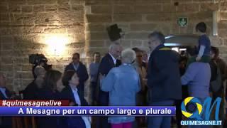 Mesagne incontra Giuliano Pisapia