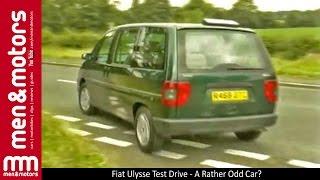 Fiat Ulysse Test Drive - A Rather Odd Car?