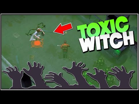 New Boss: The Toxic Witch! - Delivery From The Pain Survival Gameplay #24