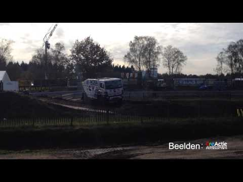 Ginaf Rally Power komt los tijdens de RTL Dakar Preproloog 2014