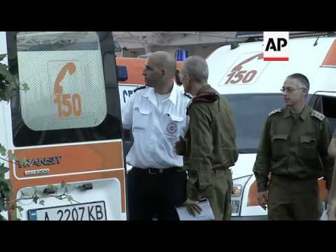 Israeli Tourists Injured In Bombing Taken To Airport By Ambulance