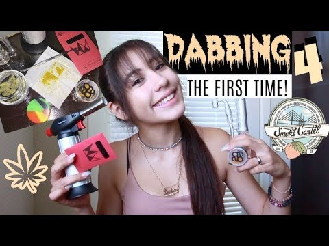 DABBING FOR THE FIRST TIME - SMOKECARTEL RIG // LIFEBEINGDEST