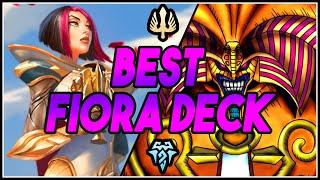 The Best Fiora EXODIA Deck   Runeterra Deckbuilding   Runeterra Strategy