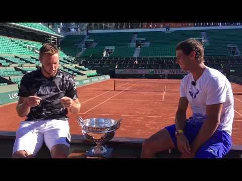 Rafa & Jack interview each other