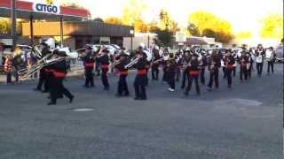 Blackhawk Marching Band 2012