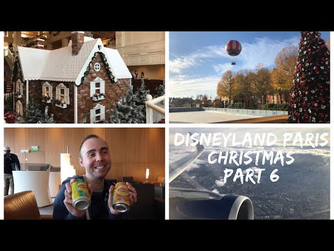 Disneyland Paris Vlog - Christmas 2017 - Part 6 - Shopping, exploring Disney Resorts and home