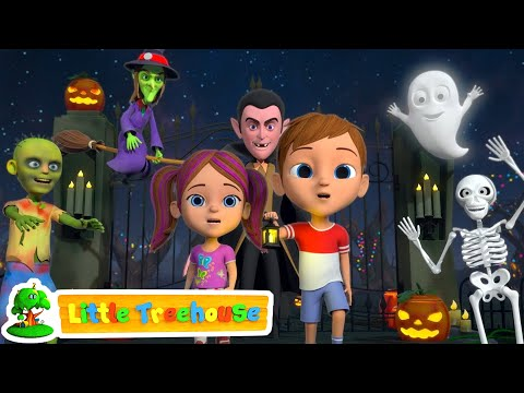 Its Halloween Night | Fun Halloween Kids Cartoon | Kindergarten Nursery Rhymes by Little Treehouse