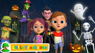 Its Halloween Night   Fun Halloween Kids Cartoon   Kindergarten Nursery Rhymes By Little Treehouse