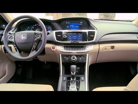 2014 honda accord hybrid interior review youtube - 2015 honda accord interior illumination ...