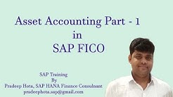 Asset Accounting in SAP FICO | Asset Accounting Part - 1 | How to configure Asset Accounting in SAP