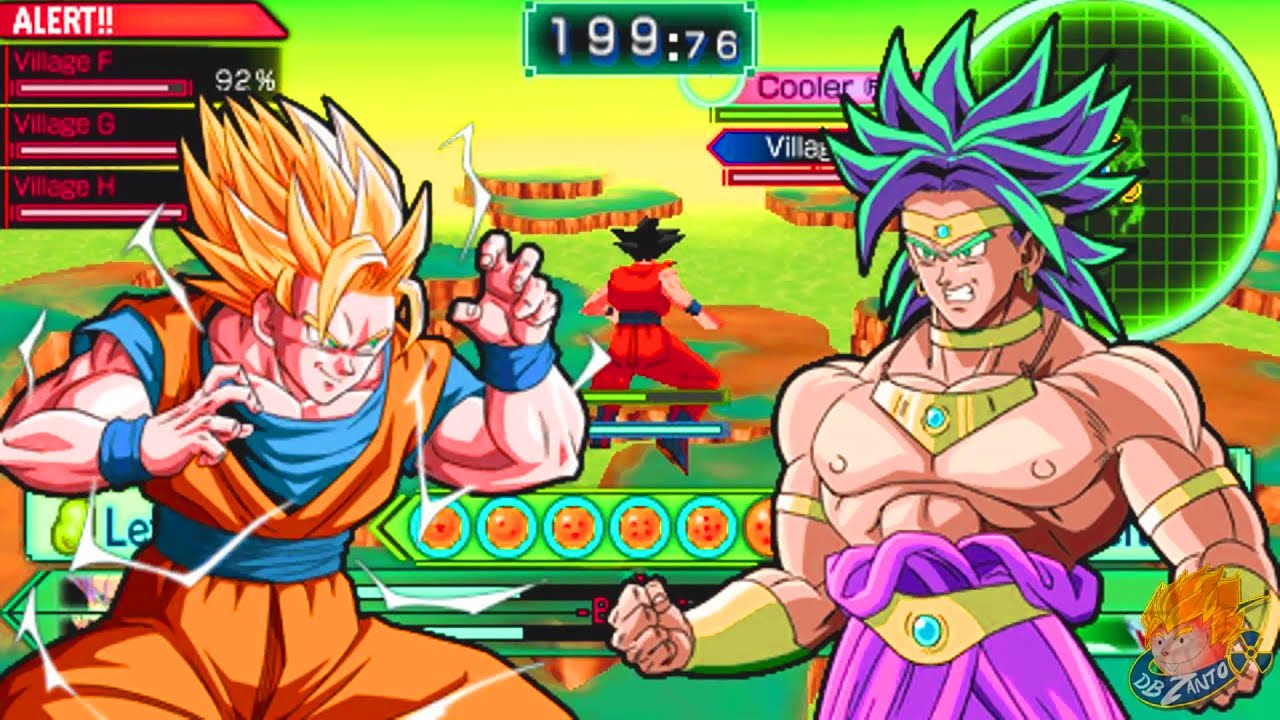Save Game Dragon Ball Z Shin Budokai Another Road Ppsspp