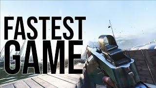 My Fastest Game With 0 Deaths! | Battlefield 5 Tommy Gun Gameplay