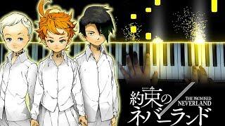 """[Yakusoku no Neverland OP] """"Touch Off"""" - UVERworld (Piano)"""