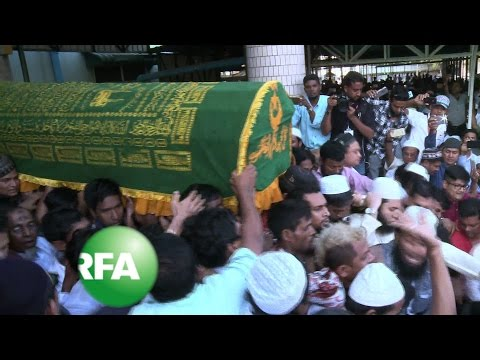 Thousands Mourn Killing of Muslim Lawyer in Myanmar | Radio Free Asia (RFA)