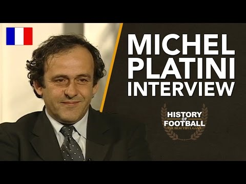 Michel Platini Interview | History Of Football