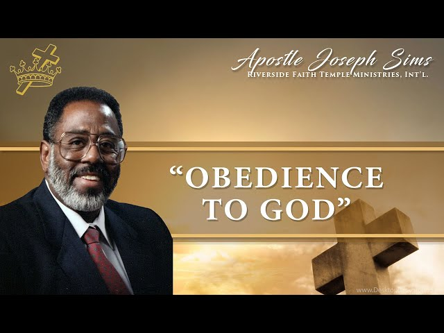 Audio Sermon - Obedience To God - John 9:4