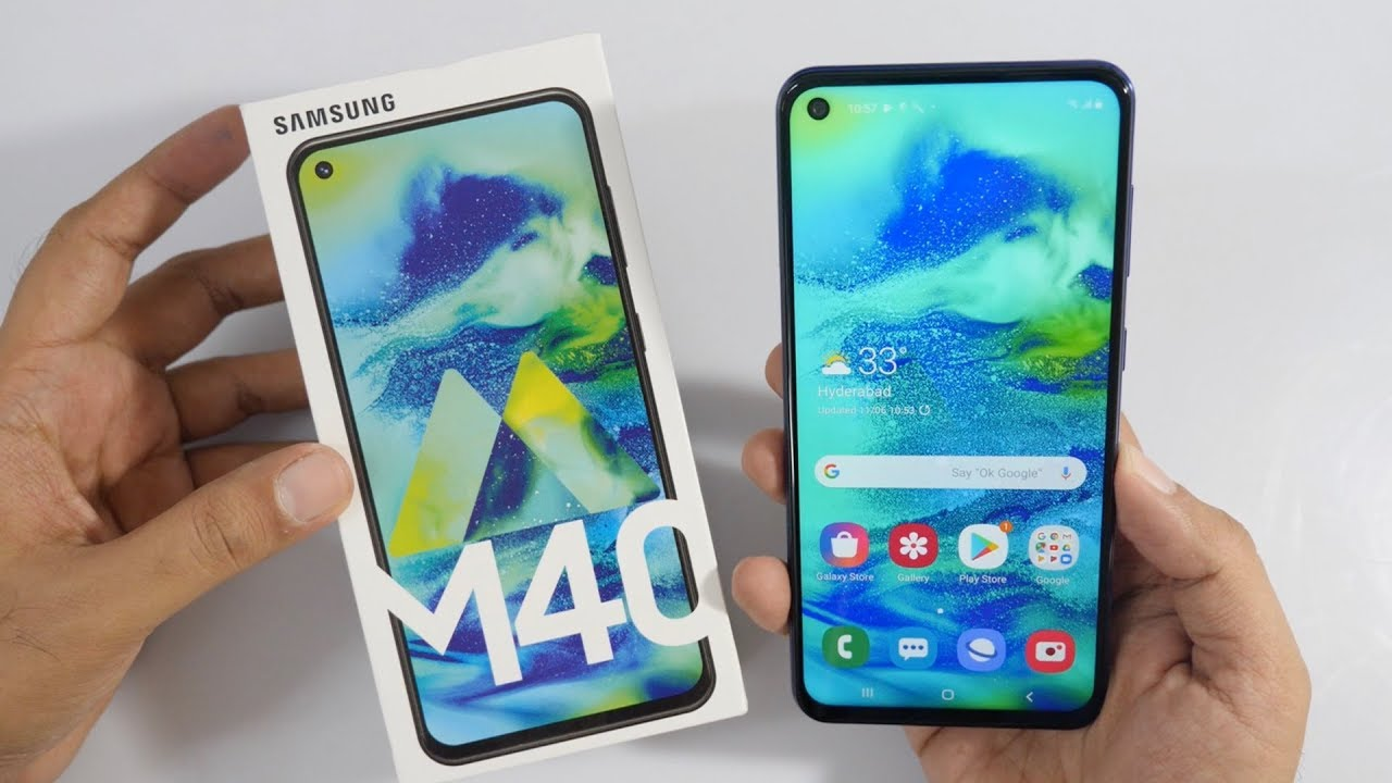 Samsung Galaxy M40 first thoughts