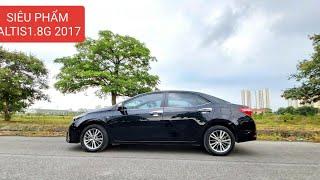 BÁN GẤP Toyota Altis1.8G 2017 XE RẤT MỚI NGUYÊN BẢN KHÔNG TỲ VẾT_Xetot360